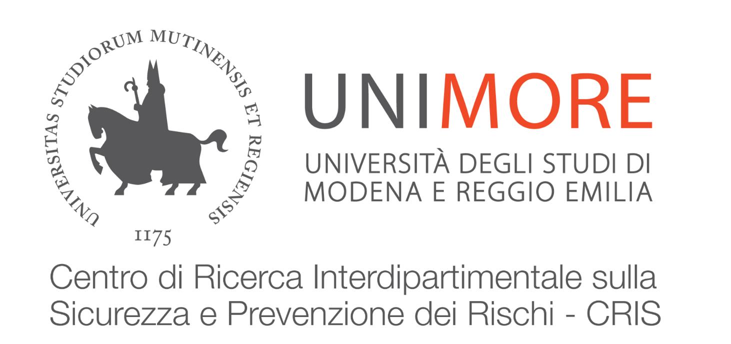 Centro di Ricerca Interdipartimentale sulla Sicurezza e Prevenzione dei Rischi (CRIS) - Università degli studi di Modena e Reggio Emilia